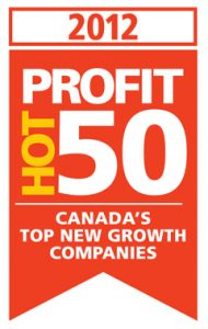 NEXUS SYSTEMS GROUP Ranks No. 29 on the 2012 PROFIT HOT 50