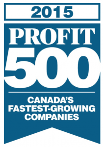 NEXUS SYSTEMS GROUP makes it on the 2015 PROFIT 500