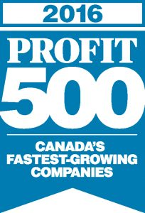 NEXUS SYSTEMS GROUP makes it on the 2016 PROFIT 500