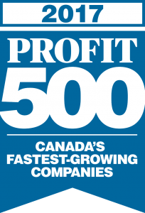 NEXUS SYSTEMS GROUP makes it on the 2017 PROFIT 500